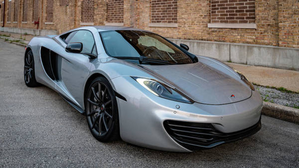 Photograph - Mclaren Mp4-12c by Randy Scherkenbach