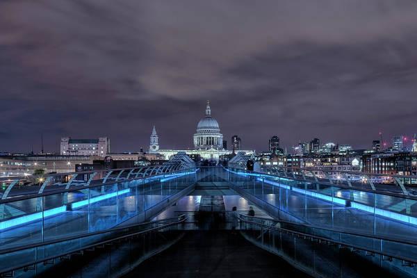 Wall Art - Photograph - Millennium Bridge - London by Joana Kruse