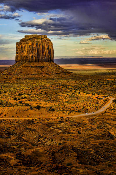 The Mitten Photograph - Monument Valley - Arizona by Jon Berghoff