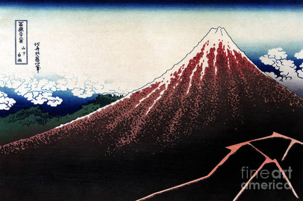Photograph - Mount Fuji by Granger