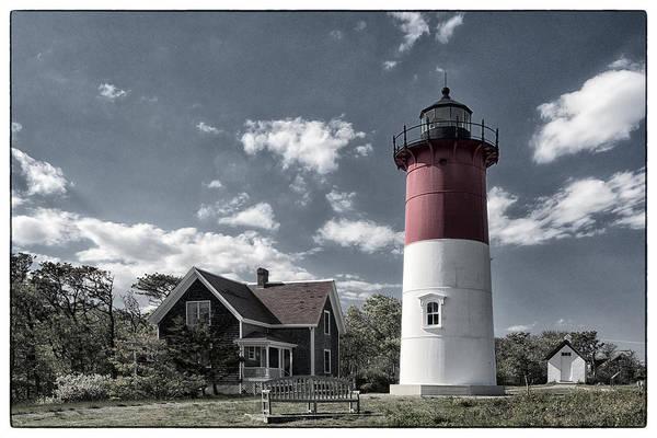 Cape Cod Photograph - Nauset Lighthouse by Robert Fawcett