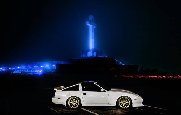 Mount Soledad Wall Art - Photograph - Nissan 300zx Z31 by Christian Flores
