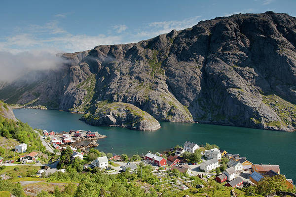 Photograph - Nusfjord Fishing Village by Aivar Mikko