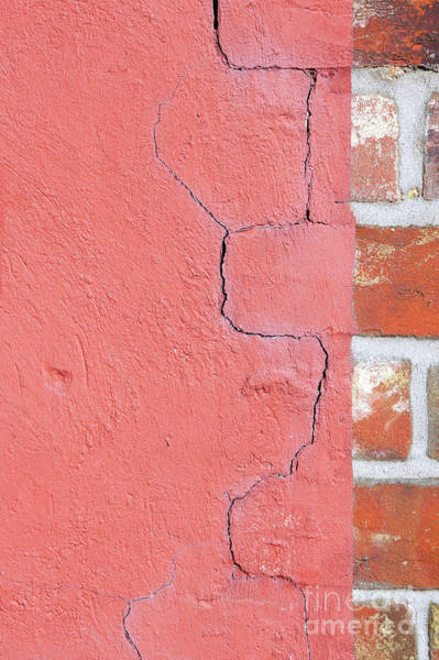 Demolition Wall Art - Photograph - Old Brick Wall by Tom Gowanlock