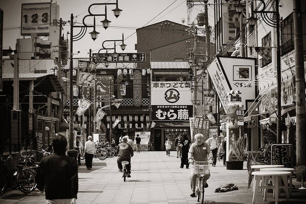 Photograph - Osaka Street by Songquan Deng