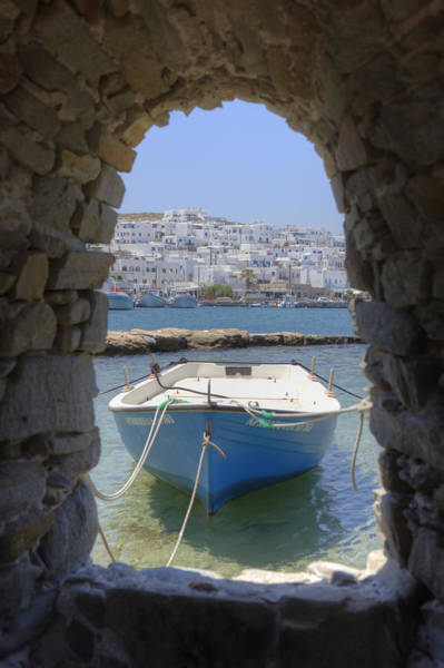 Aegean Sea Photograph - Paros - Cyclades - Greece by Joana Kruse