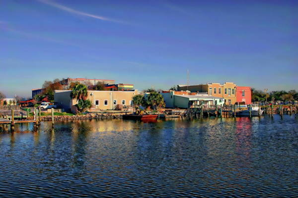 Photograph - Pensacola Bay by Anthony Dezenzio