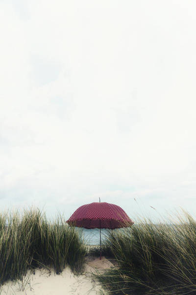 Polka Dots Photograph - Red Umbrella by Joana Kruse