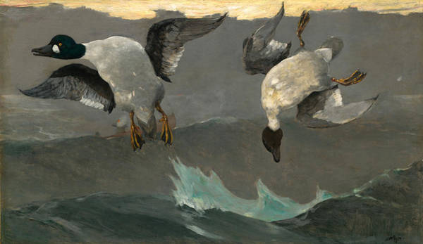 Painting - Right And Left by Winslow Homer