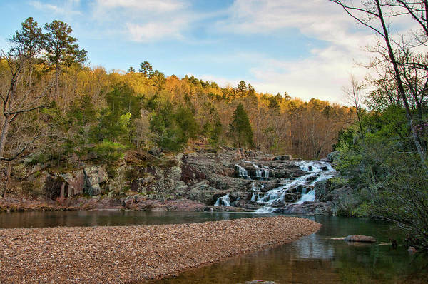 Photograph - Rocky Falls by Steve Stuller