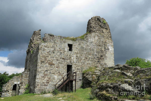 Old Wall Art - Photograph - Ruins Of Primda Castle by Michal Boubin