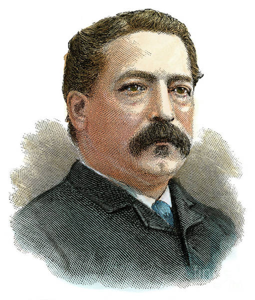 20th Century Man Drawing - Samuel Gompers, 1850-1924 by Granger
