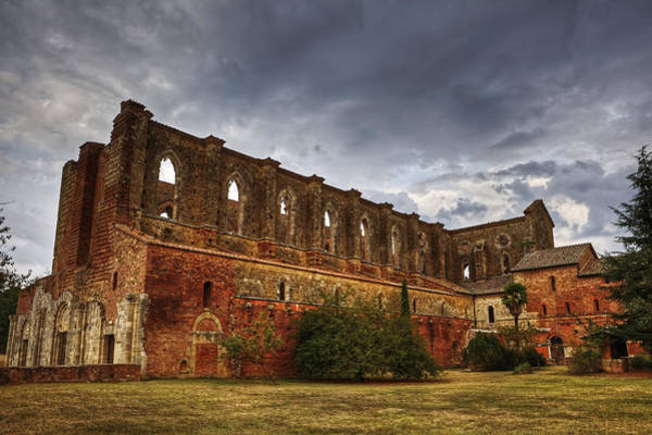 Abbey Photograph - San Galgano by Joana Kruse
