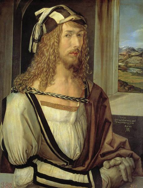 Painting - Self-portrait  by Albrecht Durer