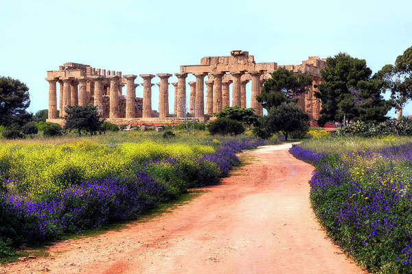 Wall Art - Photograph - Selinunte - Sicily by Joana Kruse