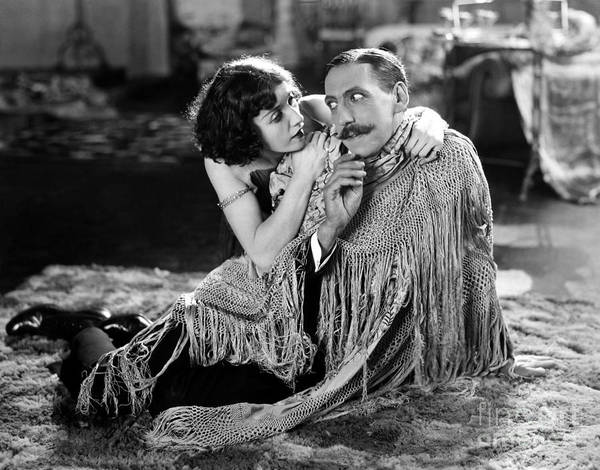 Photograph - Silent Film Still: Couples by Granger