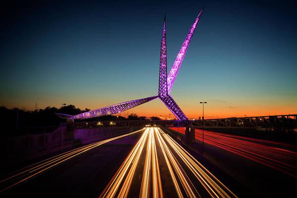Okc Photograph - Skydance by Ricky Barnard