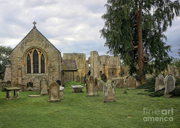 Abbey Photograph - St Agathas by Smart Aviation