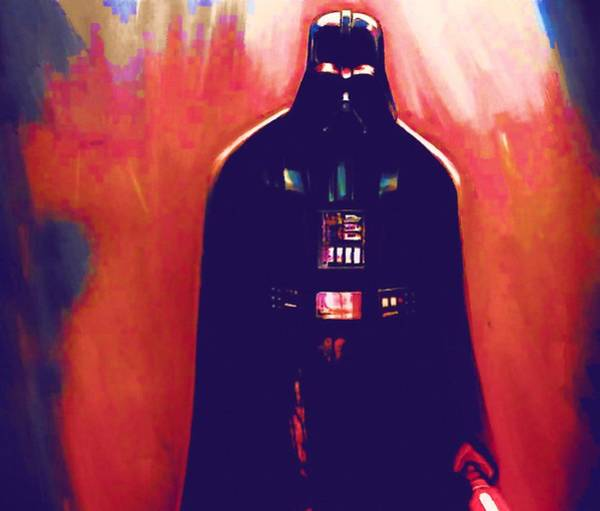 Star Wars Episode 3 Wall Art - Digital Art - Star Wars At Poster by Larry Jones