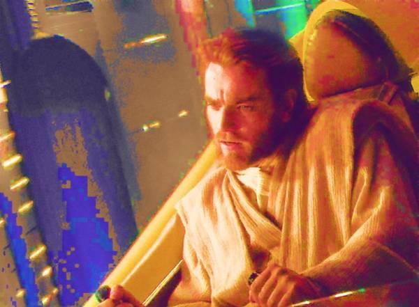 R2-d2 Digital Art - Star Wars Episode 3 Poster by Larry Jones