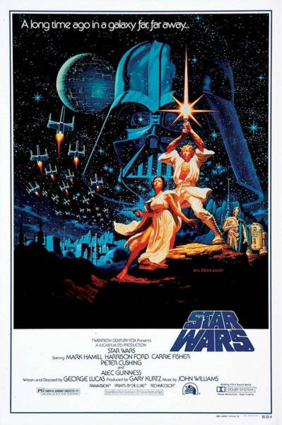 Jedi Digital Art - Star Wars Episode Iv - A New Hope 1977 by Geek N Rock