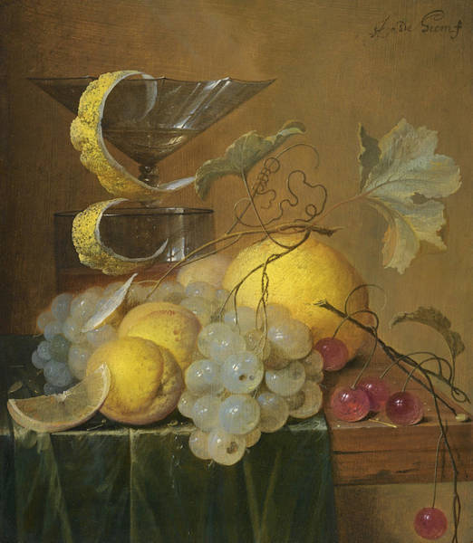 Wall Art - Painting - Still Life by Jan Davidsz de Heem