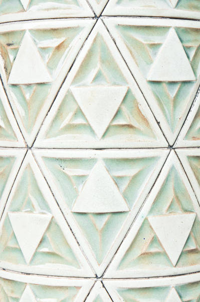Stone Carving Wall Art - Photograph - Stone Pattern by Tom Gowanlock
