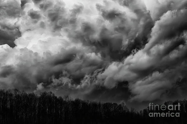 Photograph - Storm Coming Over The Hill by Thomas R Fletcher