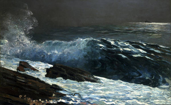 Painting - Sunlight On The Coast by Winslow Homer