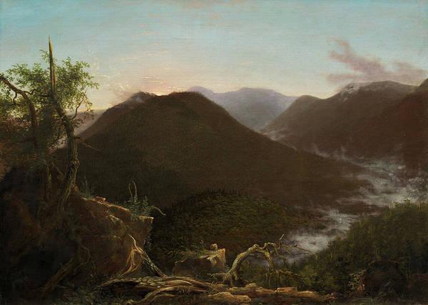 Catskills Painting - Sunrise In The Catskills by Thomas Cole
