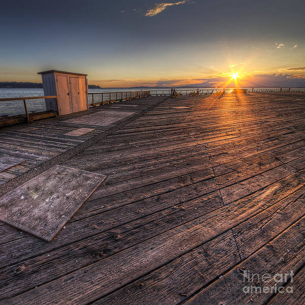 Wall Art - Photograph - Sunset Over Puget Sound by Twenty Two North Photography