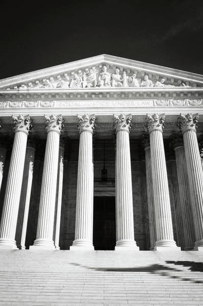 Photograph - Supreme Court Of The United States Of America by Brandon Bourdages