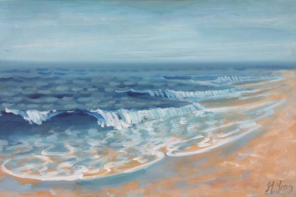 Painting - Surf 2 by Gary M Long