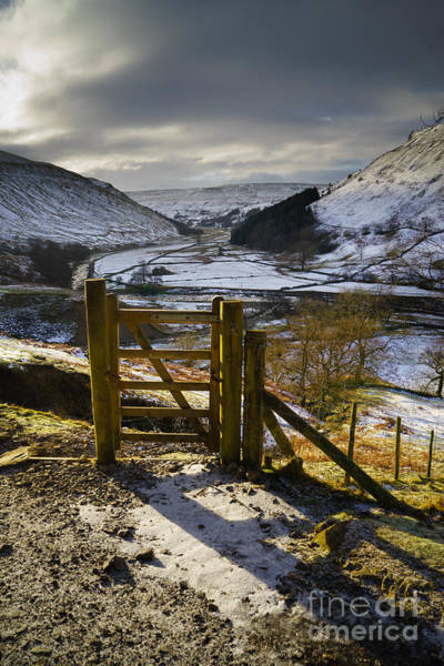 Yorkshire Wall Art - Photograph - Swaledale by Smart Aviation