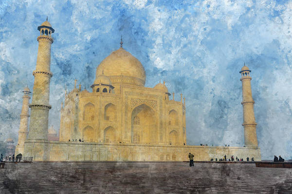 Photograph - Taj Mahal In India by Brandon Bourdages
