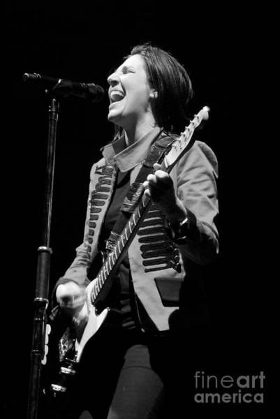 Photograph - Texas, Sharleen Spiteri by Jenny Potter