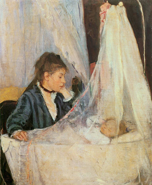 Photograph - The Cradle by Berthe Morisot