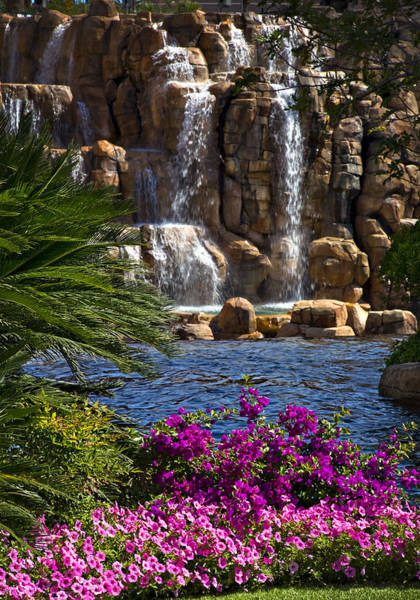 Famous Waterfall Wall Art - Photograph - The Mirage Vi by Ricky Barnard