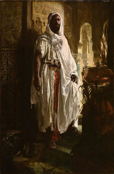 Wall Art - Painting - The Moorish Chief by Eduard Charlemont