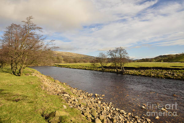 Yorkshire Wall Art - Photograph - The River Swale by Smart Aviation