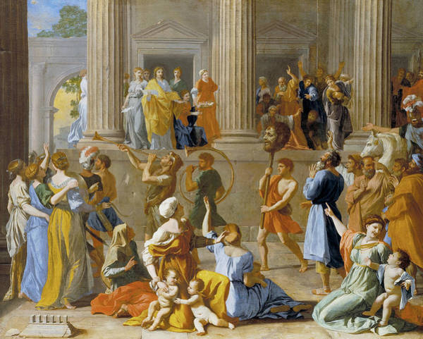 Painting - The Triumph Of David by Nicolas Poussin