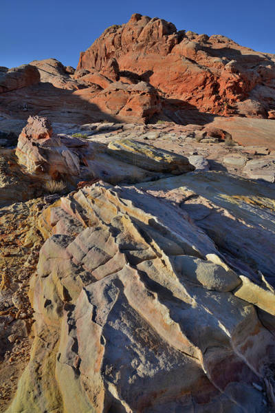 Photograph - Waves Of Sandstone In Valley Of Fire by Ray Mathis