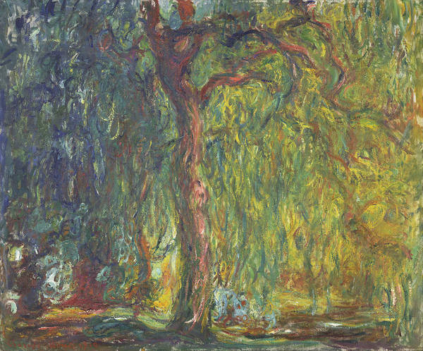 Painting - Weeping Willow by Claude Monet