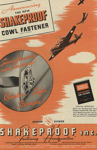 Jet Painting - World War II Advertisement by American School
