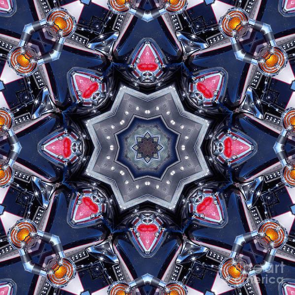 Valkyrie Digital Art - Valkyrie Kaleidoscope 1 by Wendy Wilton