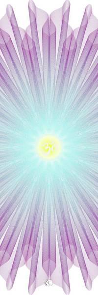 Wall Art - Digital Art - Yoga Flower by George Lacy