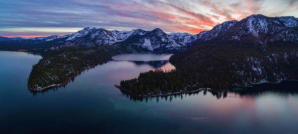 Emerald Bay Photograph - 50 Shades Of Tahoe by Brad Scott