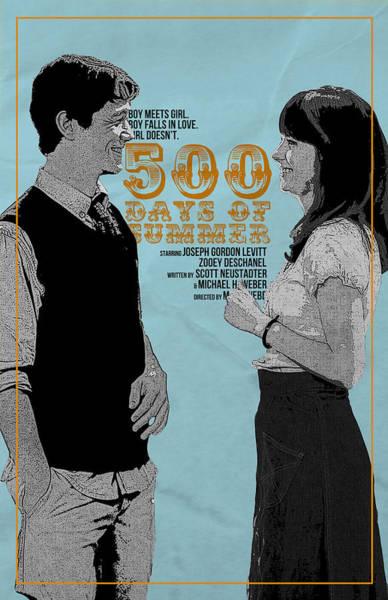 Summer Day Digital Art - 500 Days Of Summer by Geek N Rock