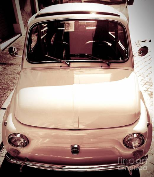 Wall Art - Photograph - 500 Fiat Toned Sepia by Stefano Senise