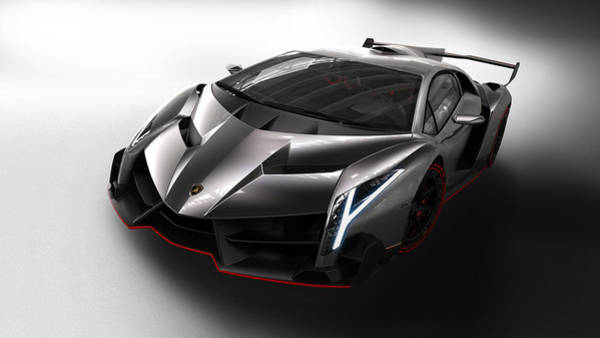 Wall Art - Digital Art - 50184 Lamborghini Veneno  by Mery Moon